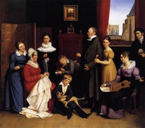 The elder the begas family